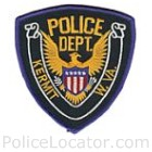 Kermit Police Department Patch