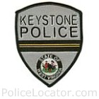 Keystone Police Department Patch