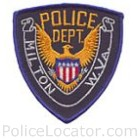 Milton Police Department Patch