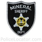 Mineral County Sheriff's Office Patch