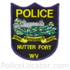 Nutter Fort Police Department Patch