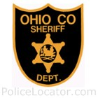 Ohio County Sheriff's Office Patch