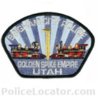 Brigham City Police Department Patch