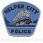 Helper City Police Department Patch