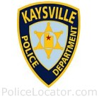 Kaysville Police Department Patch