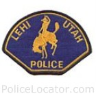 Lehi Police Department Patch
