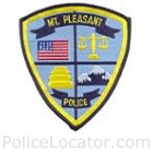 Mt. Pleasant Police Department Patch