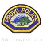 Provo Police Department Patch