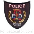 Roosevelt Police Department Patch