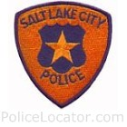 Salt Lake City Police Department Patch