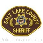 Salt Lake County Sheriff's Office Patch