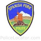 Spanish Fork Police Department Patch