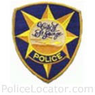 St. George Police Department Patch