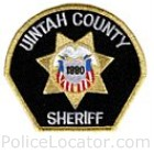 Uintah County Sheriff's Office Patch