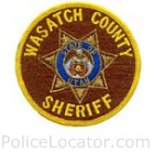 Wasatch County Sheriff's Office Patch