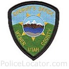Weber County Sheriff's Office Patch
