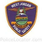 West Jordan Police Department Patch