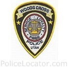 Woods Cross Police Department Patch