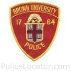 Brown University Police Department Patch