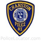 Cranston Police Department Patch