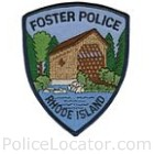 Foster Police Department Patch