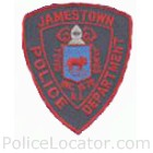 Jamestown Police Department Patch