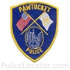 Pawtucket Police Department Patch