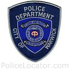 Warwick Police Department Patch