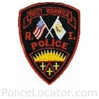West Warwick Police Department Patch