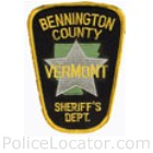 Bennington County Sheriff's Department Patch