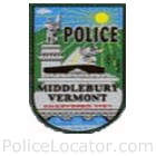 Middlebury Police Department Patch