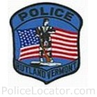 Rutland Police Department Patch