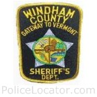 Windham County Sheriff's Department Patch