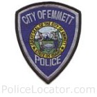 Emmett Police Department Patch
