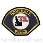 Homedale Police Department Patch