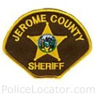 Jerome County Sheriff's Office Patch