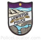 Lewiston Police Department Patch
