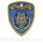 New Plymouth Police Department Patch