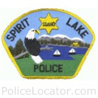 Spirit Lake Police Department Patch