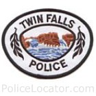 Twin Falls Police Department Patch