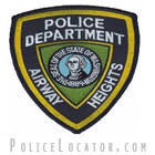 Airway Heights Police Department Patch