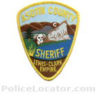Asotin County Sheriff's Department Patch