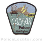 Colfax Police Department Patch