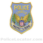 Colville Police Department Patch