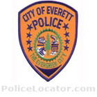 Everett Police Department Patch