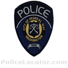 Federal Way Police Department Patch