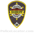 Island County Sheriff's Office Patch