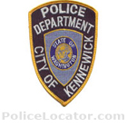 Kennewick Police Department Patch
