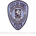 Kent Police Department Patch