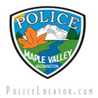 Maple Valley Police Department Patch